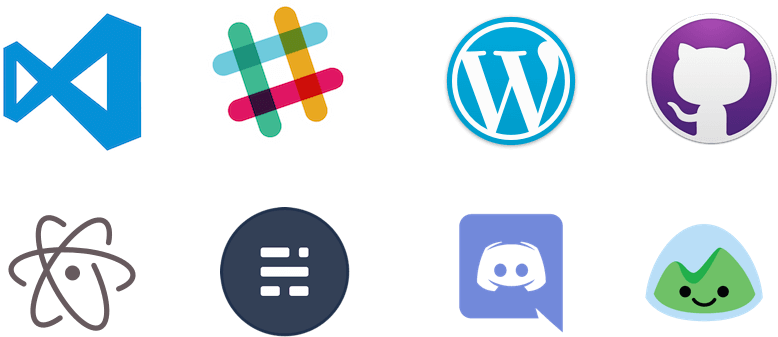 Popular Applications Built with Electron