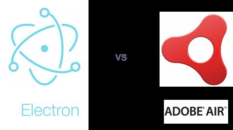 Electron vs. Adobe Air Image