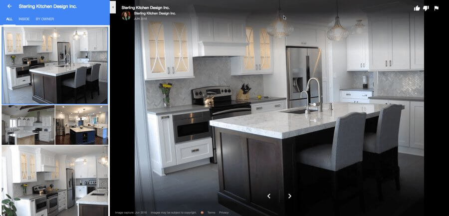 Example of Google Places Photos using Sterling Kitchen Design Inc.
